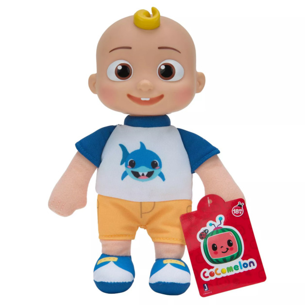 Cocomelon: JJ Baby (Shark Tee) - Little Plush