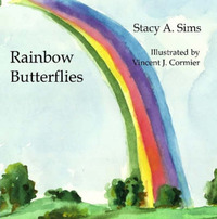 Rainbow Butterflies by Stacy Sims