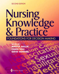 nursing knowledge of the foundations and Foundations of nursing vnsg-1304 spring 2013 01/14/2013 there are six major categories: knowledge, comprehension, application, analysis, synthesis.