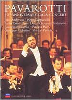 Luciano Pavarotti - 30th Anniversary Gala Concert on DVD