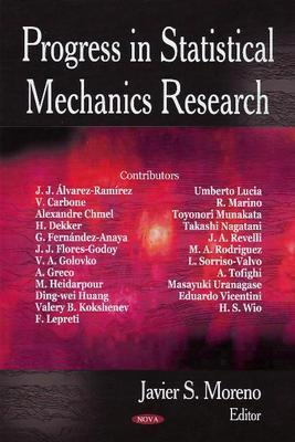 Progress in Statistical Mechanics Research