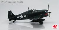 "Hobby Master: 1/72 HA1115 Grumman F6F-5 Hellcat White 7 ""Paper Doll"" image"
