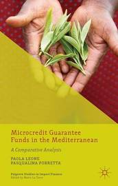 Microcredit Guarantee Funds in the Mediterranean by Paola Leone