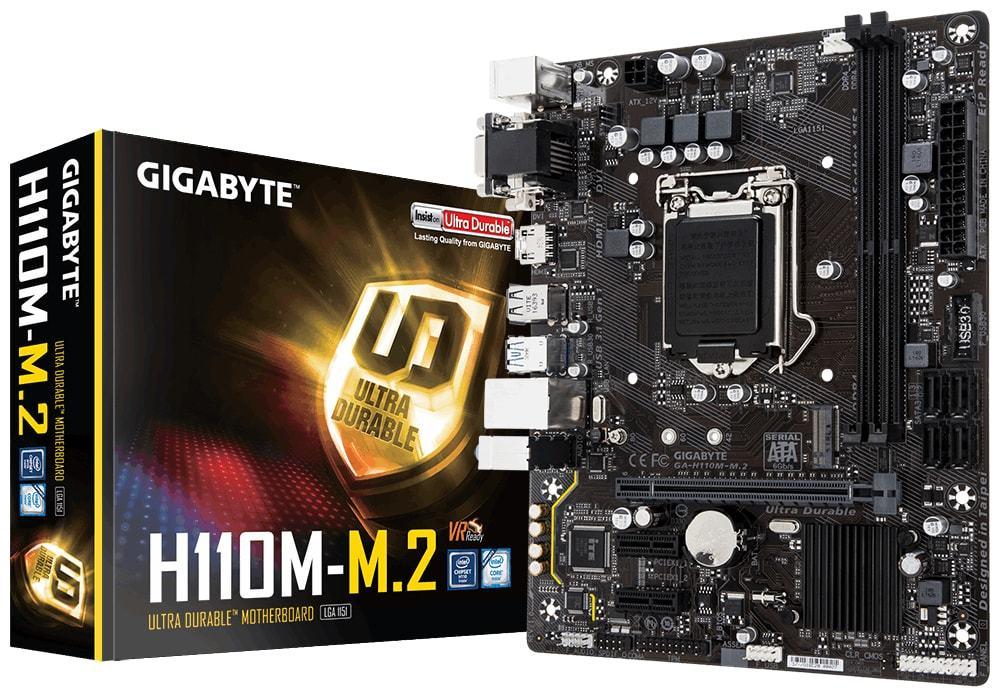 Gigabyte GA-H110M-M.2 Motherboard image
