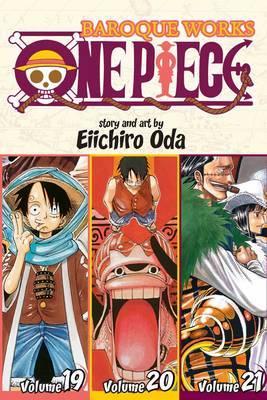 One Piece Omnibus 7: Baroque Works 19-20-21 (3 Books in 1) by Eiichiro Oda
