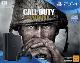 PS4 Slim 1TB COD WWII Console Bundle for PS4