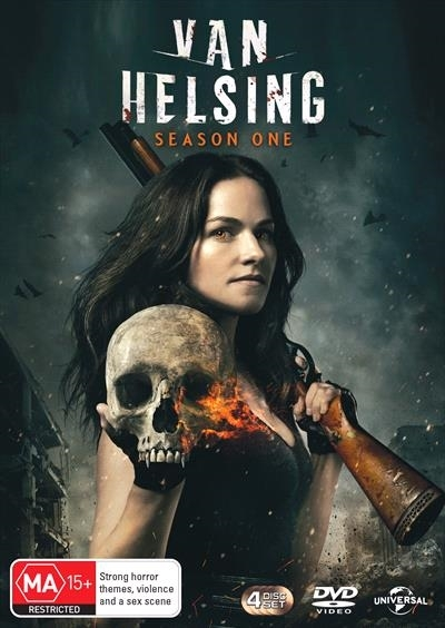 Van Helsing - Season 1 (3 Disc Set) on DVD image