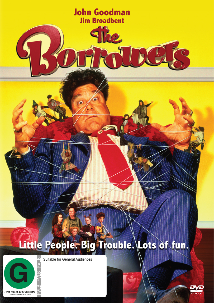 The Borrowers Dvd On Sale Now At Mighty Ape Nz