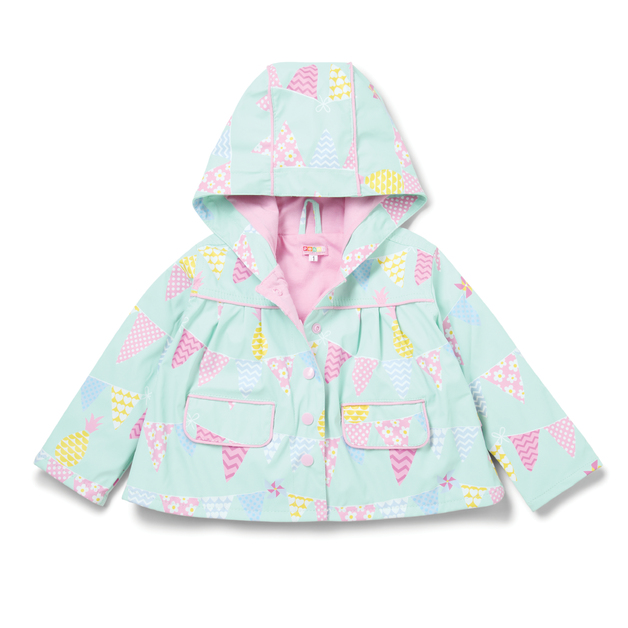 Raincoat Pineapple Bunting - Size 7-8