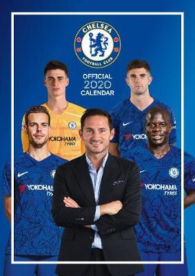 Official Chelsea 2020 A3 Wall Calendar