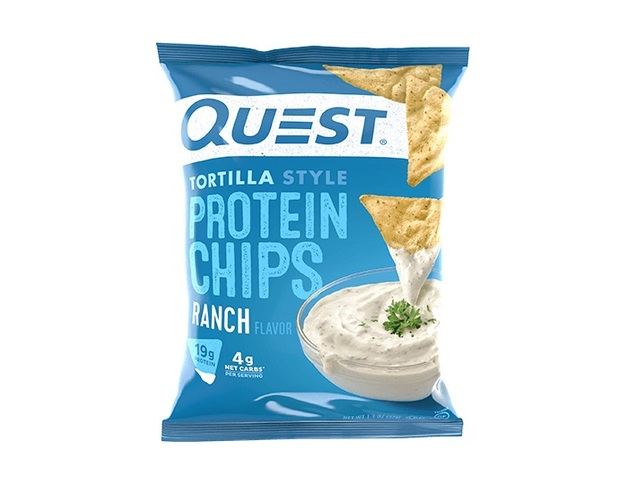 Quest Nutrition: Tortilla Style Protein Chips - Ranch (32g)
