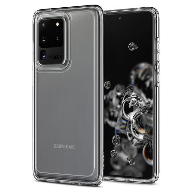 Spigen: Ultra Hybrid Case for Samsung Galaxy S20 Ultra - Crystal Clear