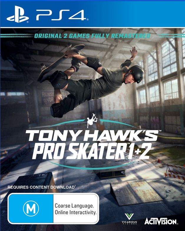 Tony Hawk's Pro Skater 1 & 2 for PS4