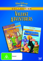 Walt Disney Collection - Valiant Adventurers (Emperor's New Groove / Robin Hood) (2 Disc Set) on DVD