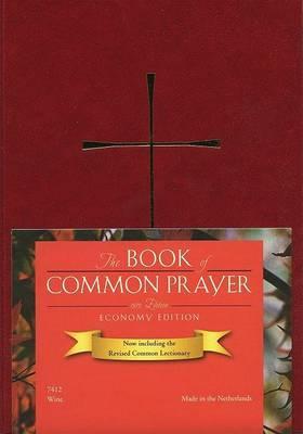 1979 Book of Common Prayer Economy Edition, imitation leather wine color image