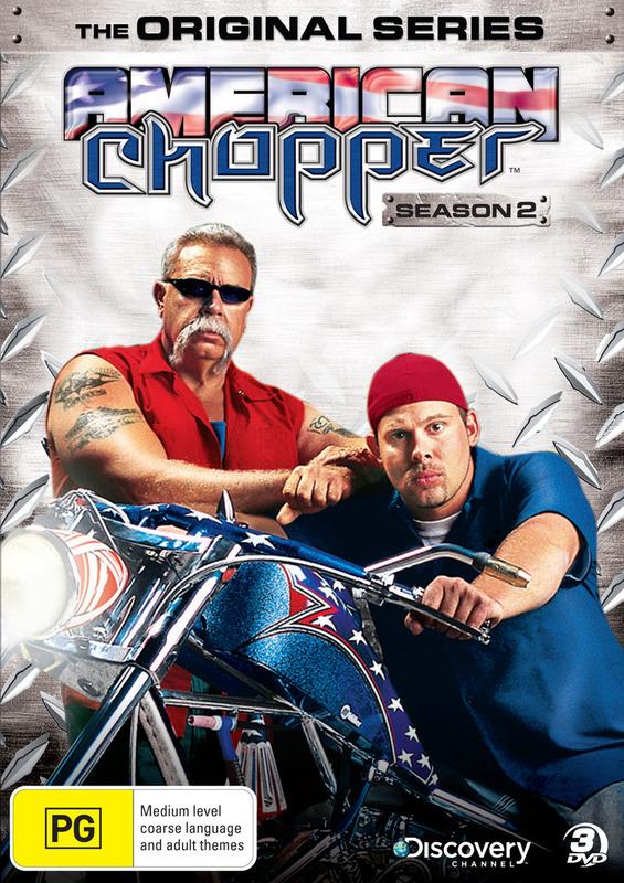 American Chopper - The Original Series: Season 2 (3 Disc Set) on DVD