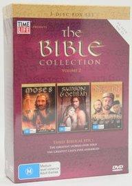 The Bible - Collection: Vol. 2 - Moses / Samson And Delilah / David (3 Disc Box Set) on DVD image