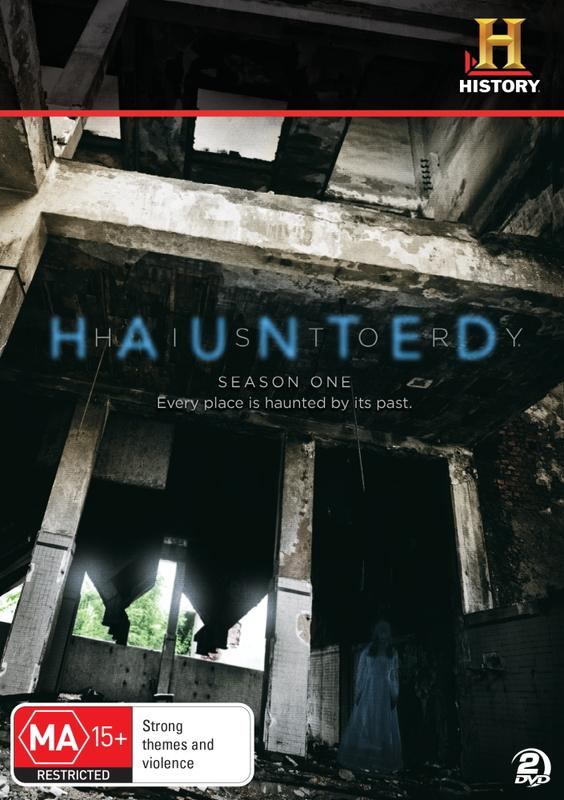 Haunted History - Season 1 on DVD
