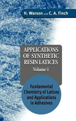 Applications of Synthetic Resin Latices: v. 1 by Henry Warson image