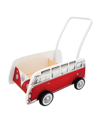 Hape: VW Combi Van Walker (Red) image