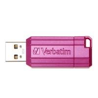 Verbatim Store'n'Go Pinstripe USB Drive - 8GB (Hot Pink) image
