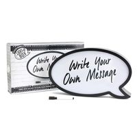 Light Up Speech Bubble With Pen