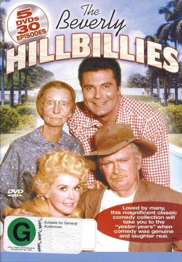 Beverley Hillbillies, The (5 Disc) on DVD image