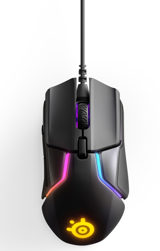 Steelseries Rival 600 Dual Sensor Gaming Mouse for PC Games