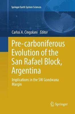 Pre-carboniferous Evolution of the San Rafael Block, Argentina