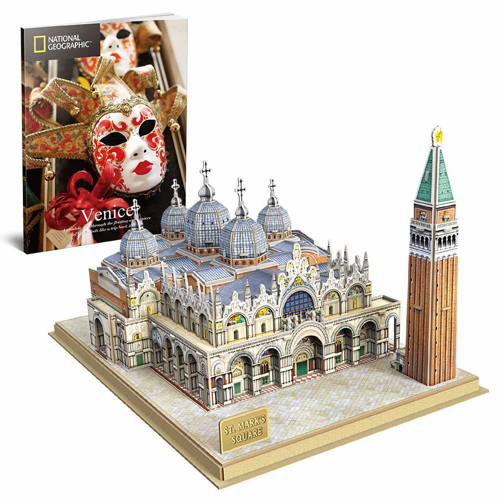 Cubic Fun: National Geographic 3D Model Puzzle - St.Mark's Square (Venice) image