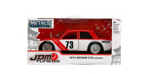 Jada 1/32 JDM- 1973 Datsun 510 - Diecast Model - Red