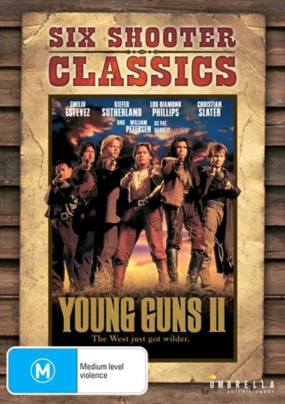 Young Guns II on DVD