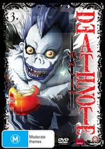 Death Note - Vol. 3 on DVD