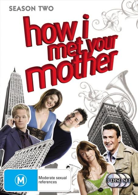 How I Met Your Mother - Season 2 (3 Disc Set) on DVD