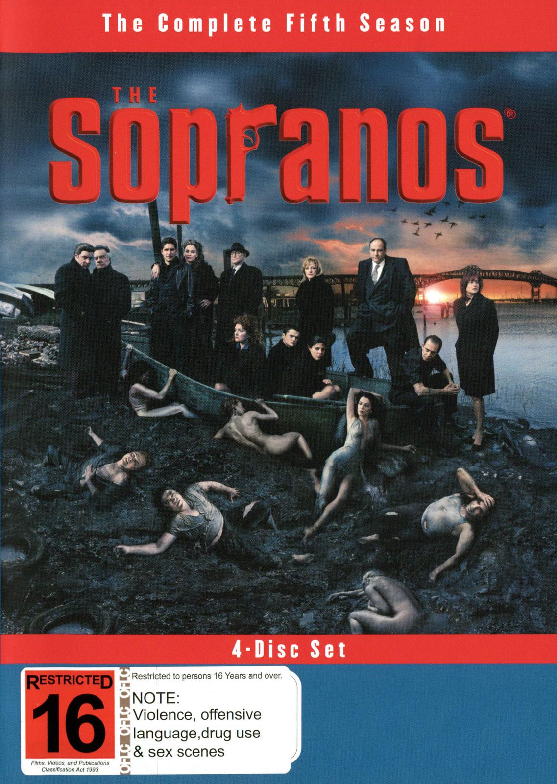 The Sopranos - Season 5 on DVD image