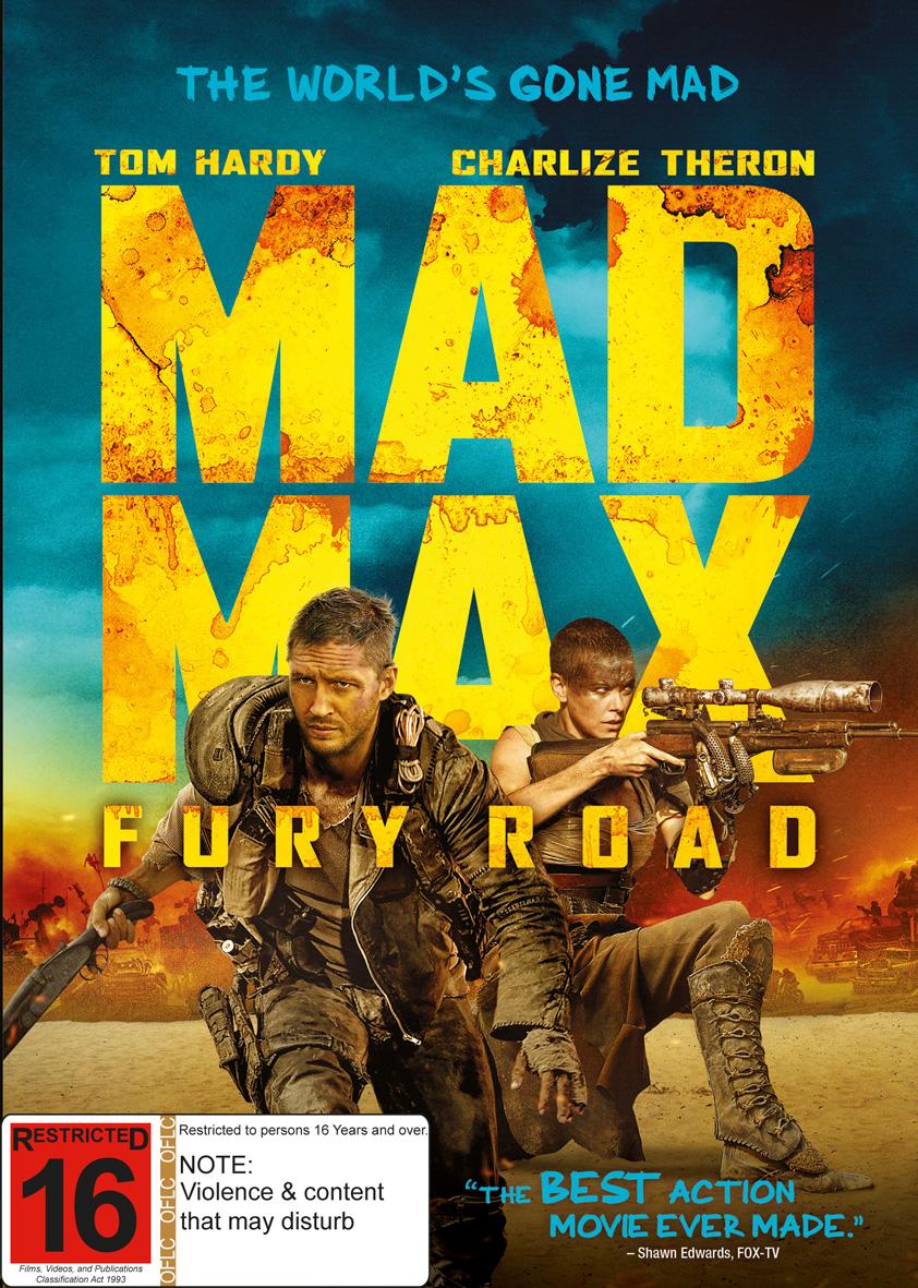 Mad Max: Fury Road on DVD image