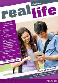 Real Life Global Advanced Students Book by Rachael Roberts