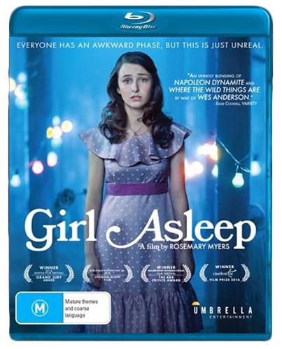 Girl Asleep on Blu-ray