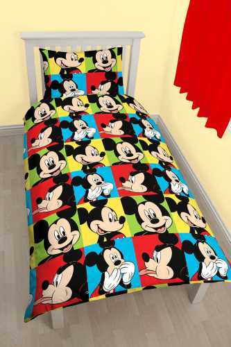 Mickey Mouse Duvet Set - Single