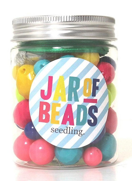 Seedling: Jar of Beads - Craft Accessory
