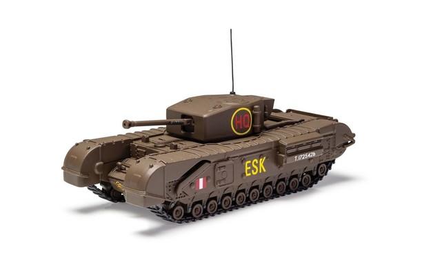 Corgi 1/50 Churchill MkIII Tank Diecast Model