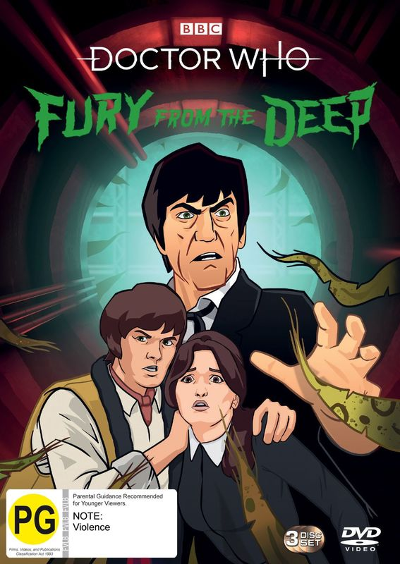 Doctor Who (1967): Fury From The Deep on DVD