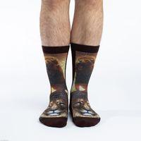Good Luck Socks: Men's Lion Socks - (Shoe Size 8-13)