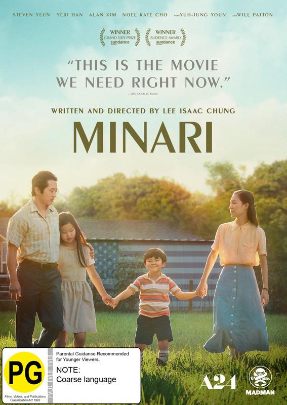 Minari on DVD