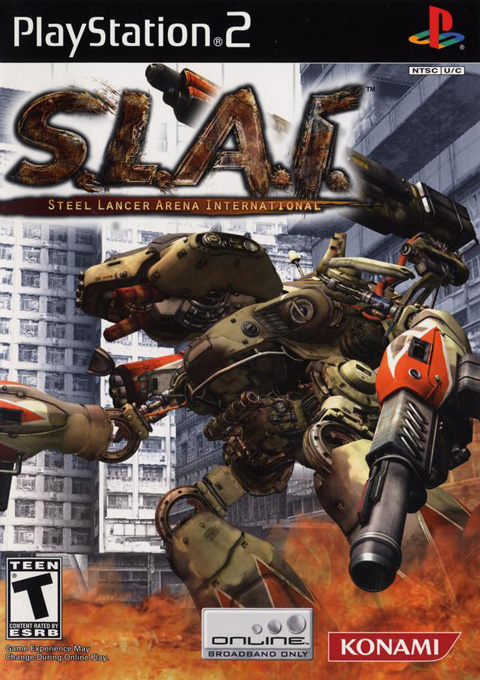 S.L.A.I.: Steel Lancer Arena International for PlayStation 2 image