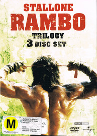 Rambo Trilogy - Ultimate Collectors Edition DVD