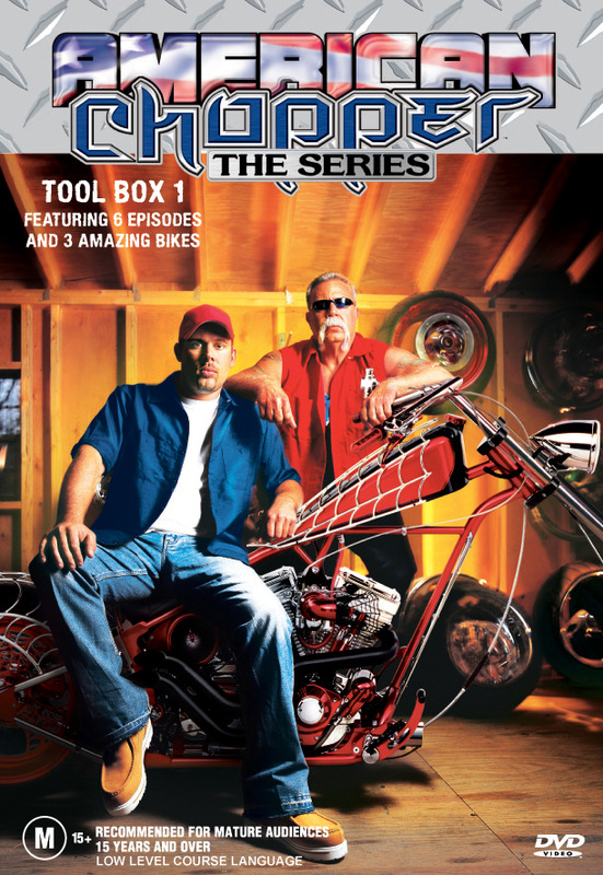 American Chopper: The Series - Tool Box 1 (Discovery Channel) on DVD