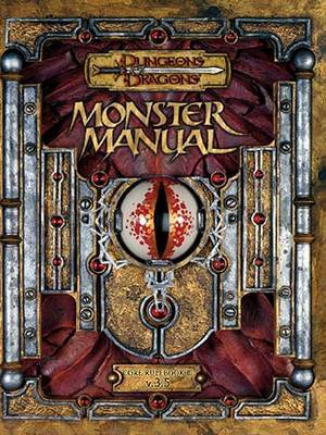 Monster Manual by Monte Cook