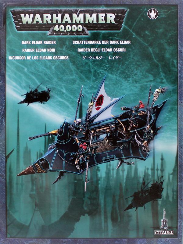 Warhammer 40,000 Dark Eldar Raider