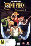 One Piece (Uncut) Collection 1 (Eps 1-13), (2 Disc Set) DVD